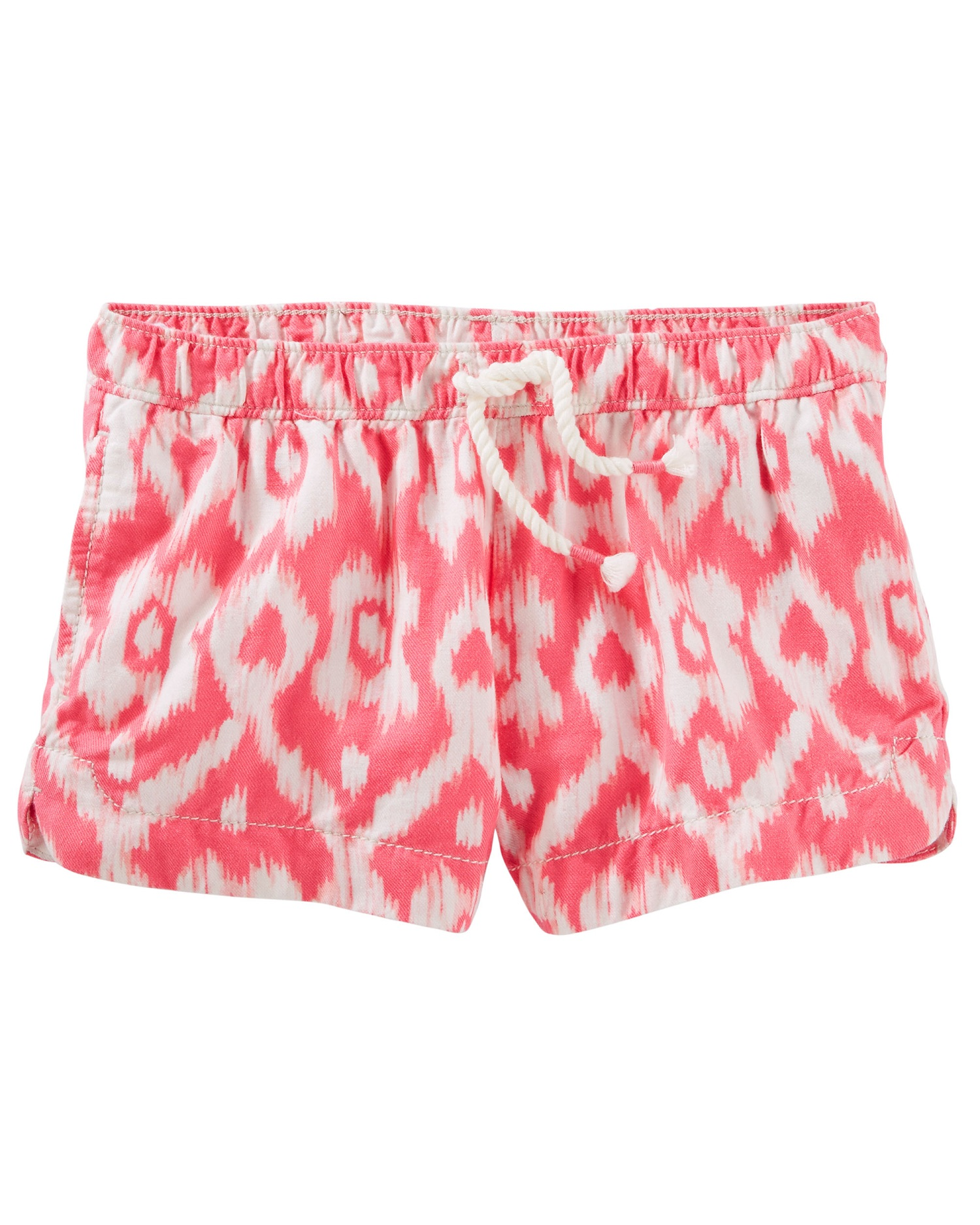 OshKosh B'gosh Baby Girls' Ikat Print Sun Shorts, 12 Months