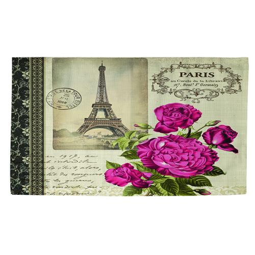 Thumbprintz Springtime in Paris All Roses Rug (2' x 3')