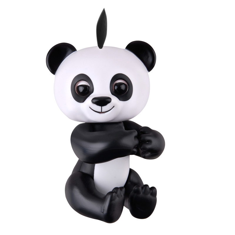 Cute Happy Finger Baby Panda Electronic Smart Interactive Pet Toy Finger Toys For Children Kids