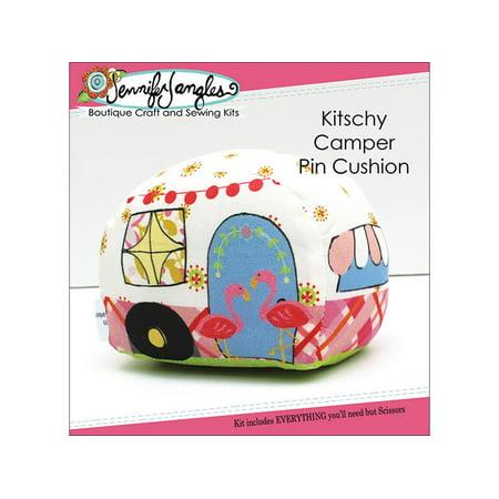 Jennifer Jangles Kit Kitschy Camper Pin Cushion