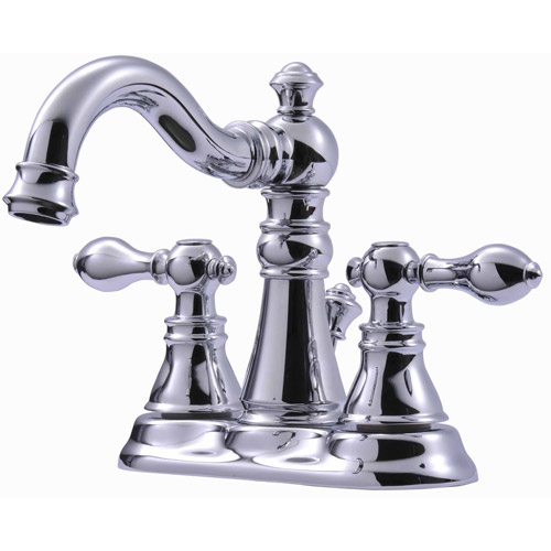 Ultra Faucets UF45110 2-Handle Chrome Victorian Series Lavatory Faucet