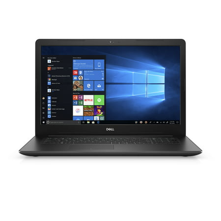 Dell Inspiron 17 3785 Laptop, 17.3'', AMD Ryzen 3 2300U, 8GB RAM, 1TB 5400 RPM HDD, Integrated graphics,