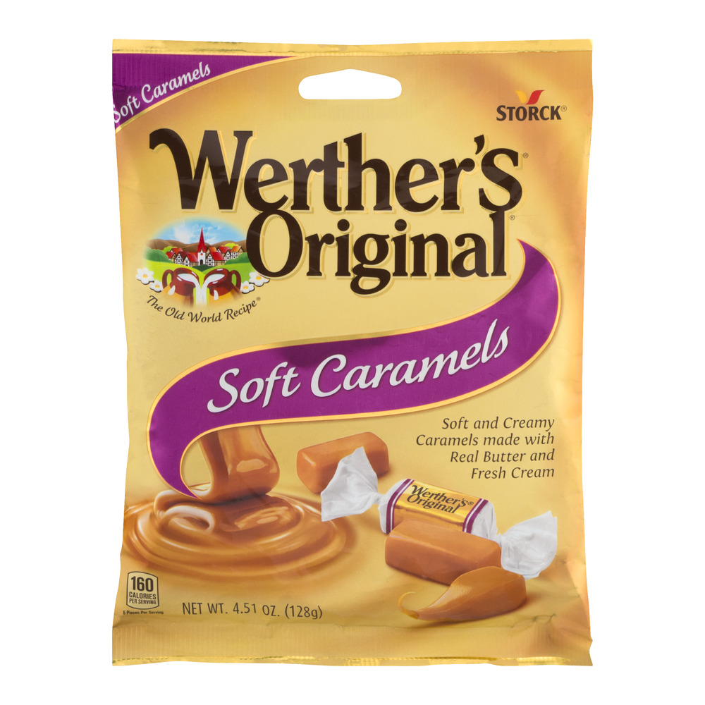 Werther's Original Soft Caramels, 4.51 OZ by Storck USA LP