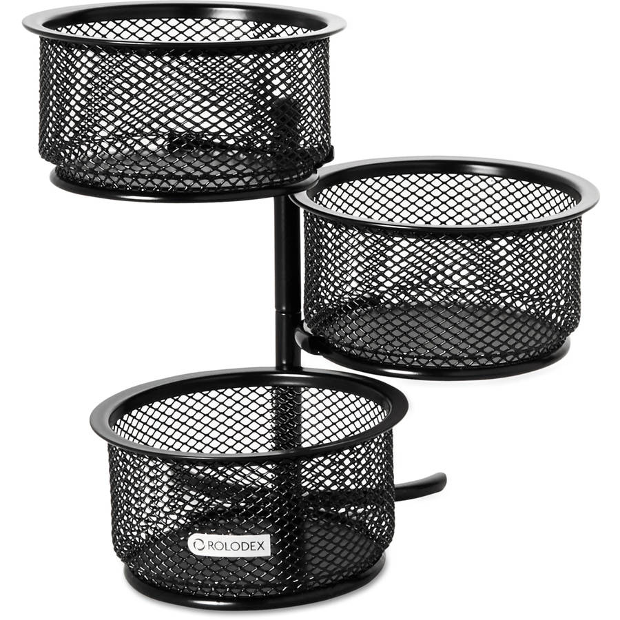 Rolodex Nestable Mesh Stacking Side Load Tray