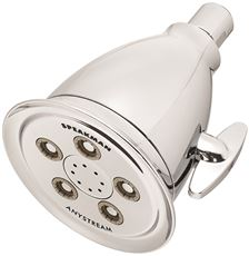 Speakman Anystream 50 Spray Shower Head With Belled Casing And Flared Lip, Polished Chrome, 2.5 Gpm