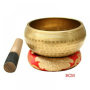 Tibetan Singing Bowl — Meditation Sound Bowl Handcrafted for Healing and Mindfulness
