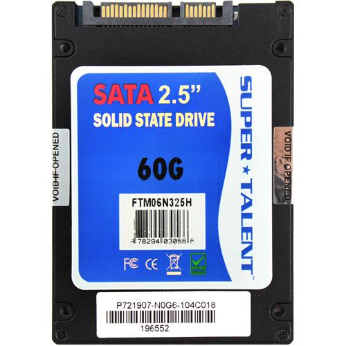 "Super Talent TeraNova 2.5"" SATAIII 64GB Solid State Drive"