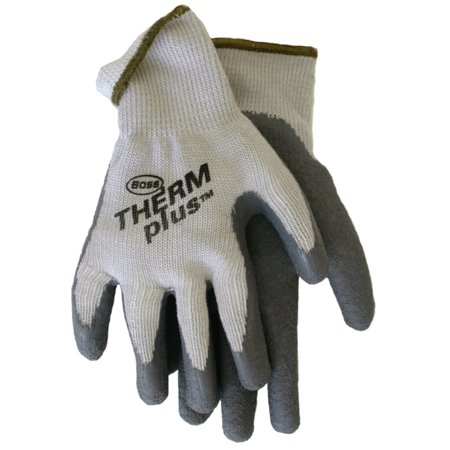 - 8435S Small Mens Therm Plus String Knit Gloves