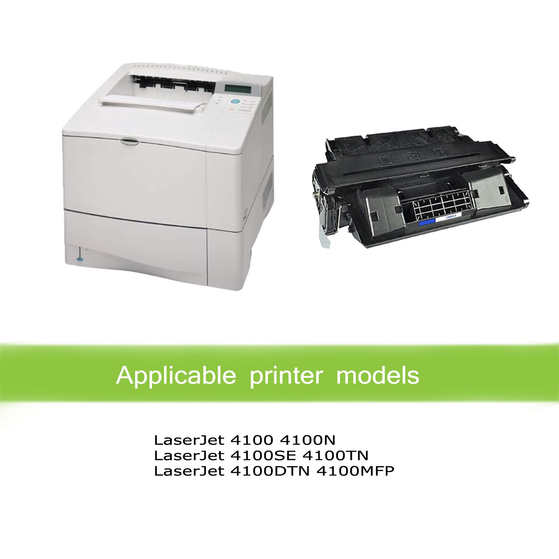 10 PK C8061X Black Toner Cartridge for LaserJet 4100 mfp 4101mfp HIGH QUALITY