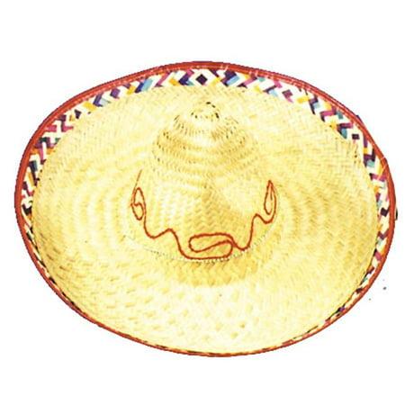 Sombrero 1 Size Straw - Custom Sombrero