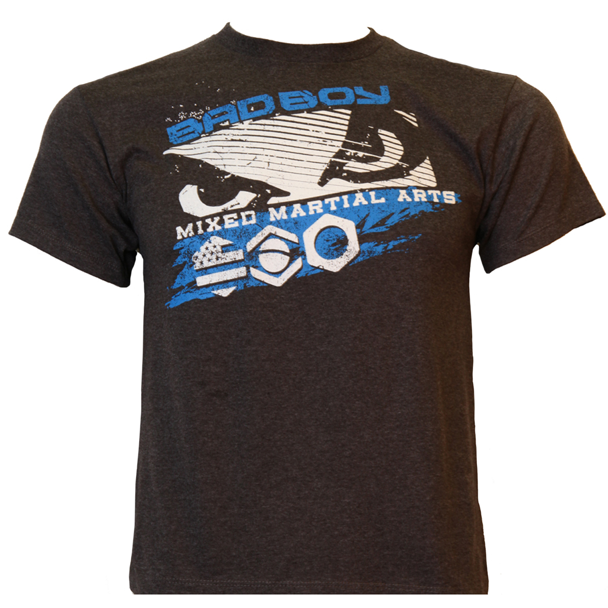 Bad Boy Youth Big Brother T-Shirt - Charcoal/Blue