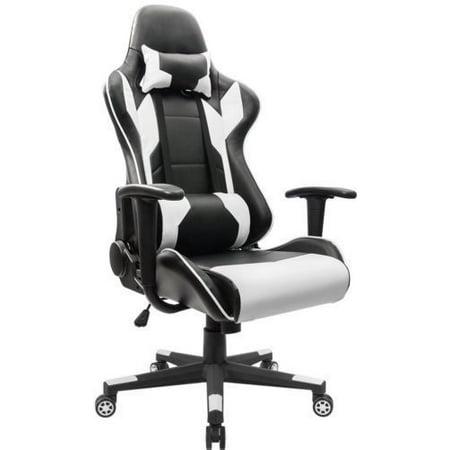 Merax Gaming Chair Ergonomic Design High Back Racing Computer Black