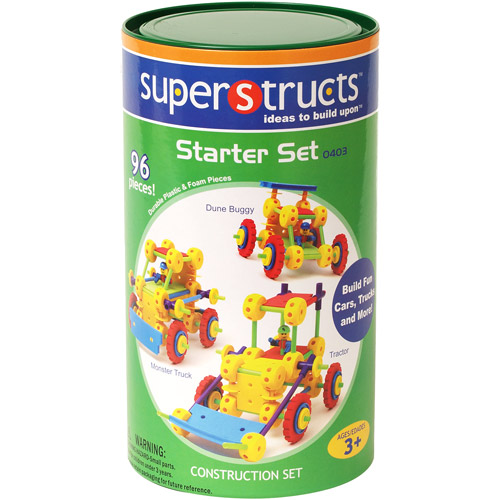 Superstructs Starter Set 96 pcs. - Building Set by Waba Fun (0403)