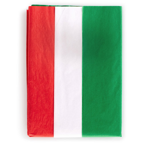 Hallmark Red, White and Green Tissue Paper, 40 Sheets