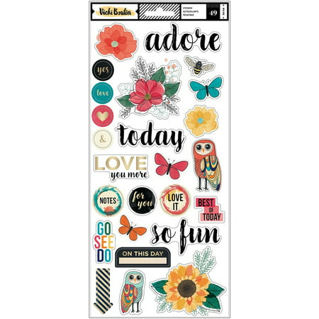 Wildflower & Honey Sticker Sheets - Vicki