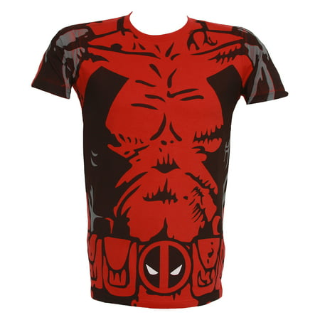 Heroes Deadpool Costume T-Shirt (Is Deadpool For Kids)