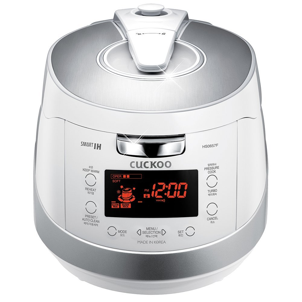 Cuckoo Electric Induction Heating Pressure Rice Cooker CRP-HS0657FW
