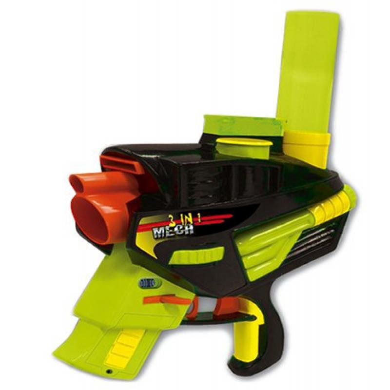 Buzz Bee Toys Ruff Stuff Air Blasters Mech Three