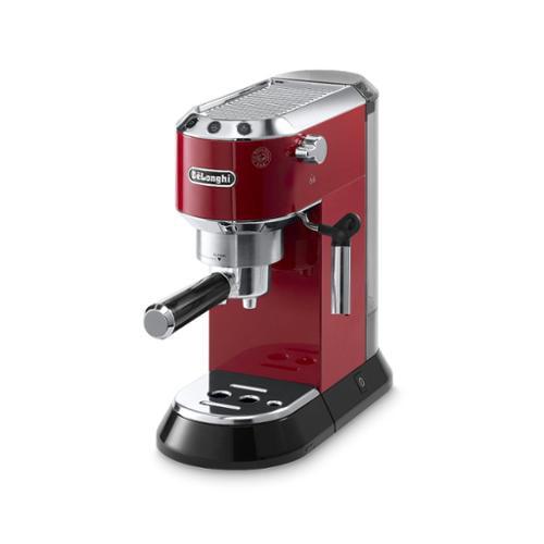 DeLonghi De'Longhi Dedica 15-Bar Pump Espresso Machine (Red  Silver) by Overstock