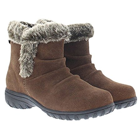 Khombu Ladies' All Weather Boot (8, (Khombu Brown Boots)
