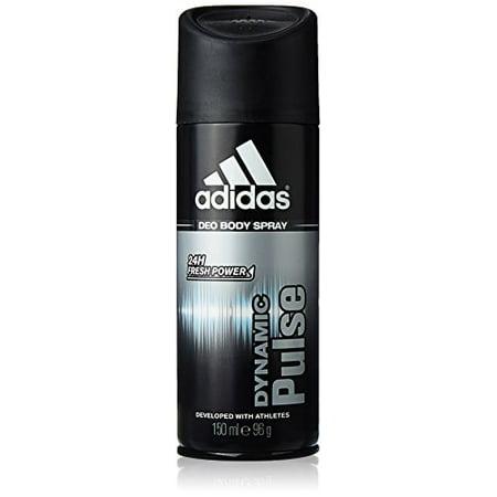 Adidas Dynamic Pulse 24 Hours Fresh Boost Deo Body Spray for Men, 5 (Adidas Day One Running Ultra Boost Zg)
