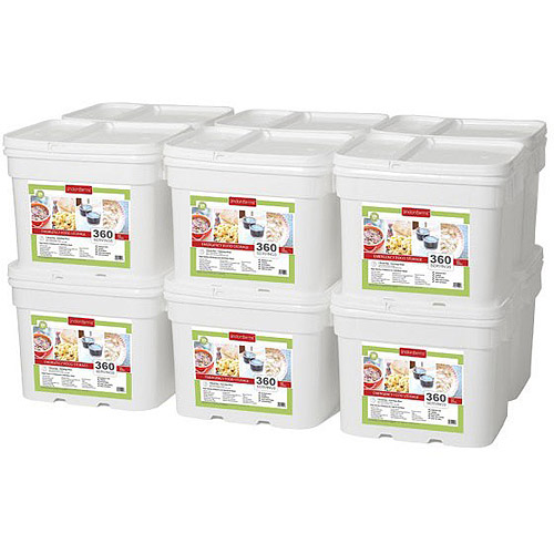 Lindon Farms 4320 Servings Freeze Dried Food Survival Emergency Storage Meals by Lindon Farms