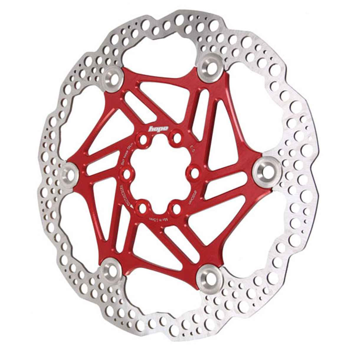Hope Floating rotor, 200mm (floating/wave) - red - HBSP3302006FR