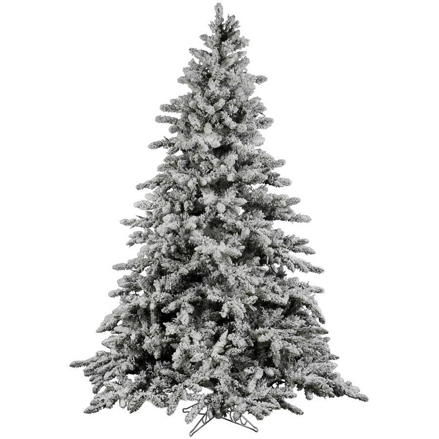 Vickerman Flocked Christmas Tree