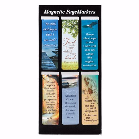 Bookmark-Pagemarker-Magnetic-Be Still-Set Of 3