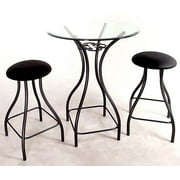 Contempo Bistro / Bar Tables Base (42 in. in Jade Teal)