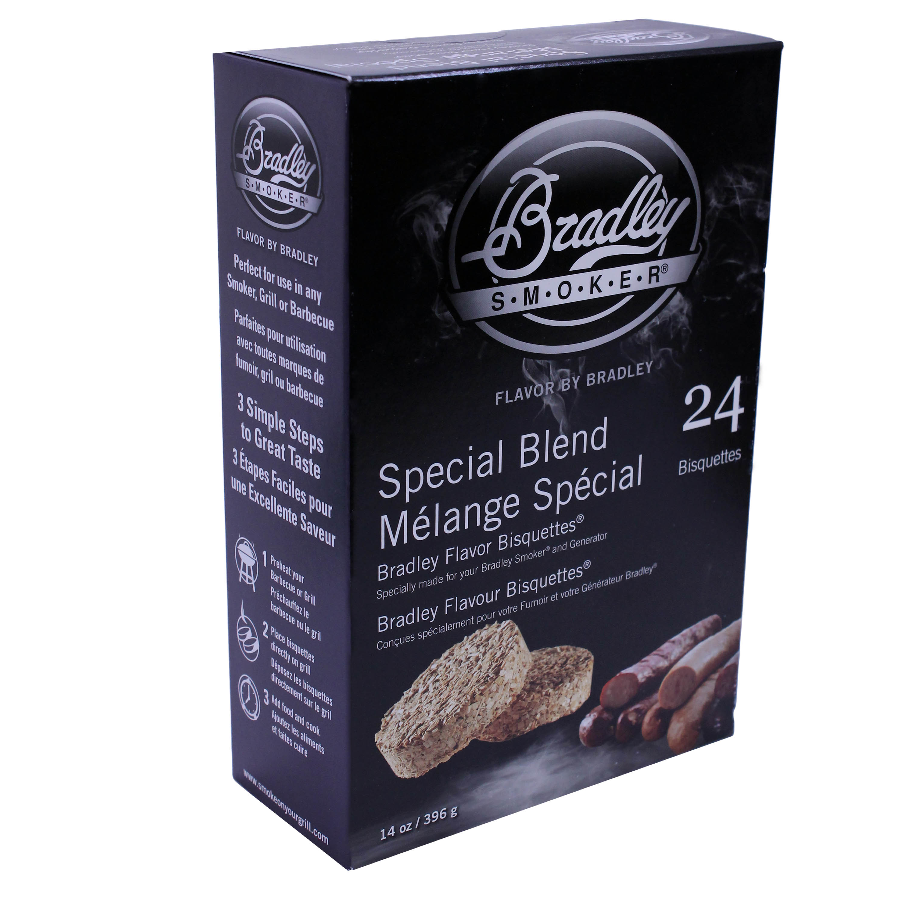 Bradley Smokers Smoker Bisquettes Special Blend 24 Pack