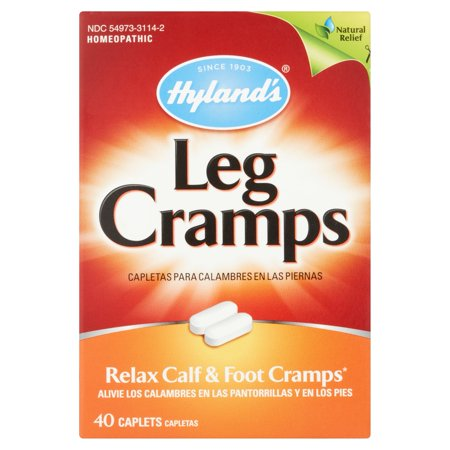 Hylands Leg Cramp Caplets  Natural Calf  Leg And Foot Cramp Relief   1 Pharmacist Recommended Leg Cramp Relief  40 Count