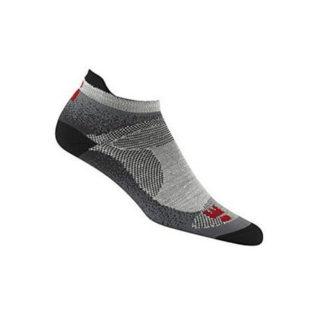 0ab2cd853ab5 Wigwam - Wigwam Ironman Flash Pro Sock Grey Black Medium - Walmart.com