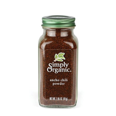 Ancho Chili Peppers (Simply Organic Ancho Chili Powder, 2.85 Oz)