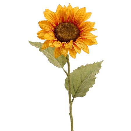 Club Pack of 24 Marigold Yellow Sunflower Artificial Floral Craft Sprays 24