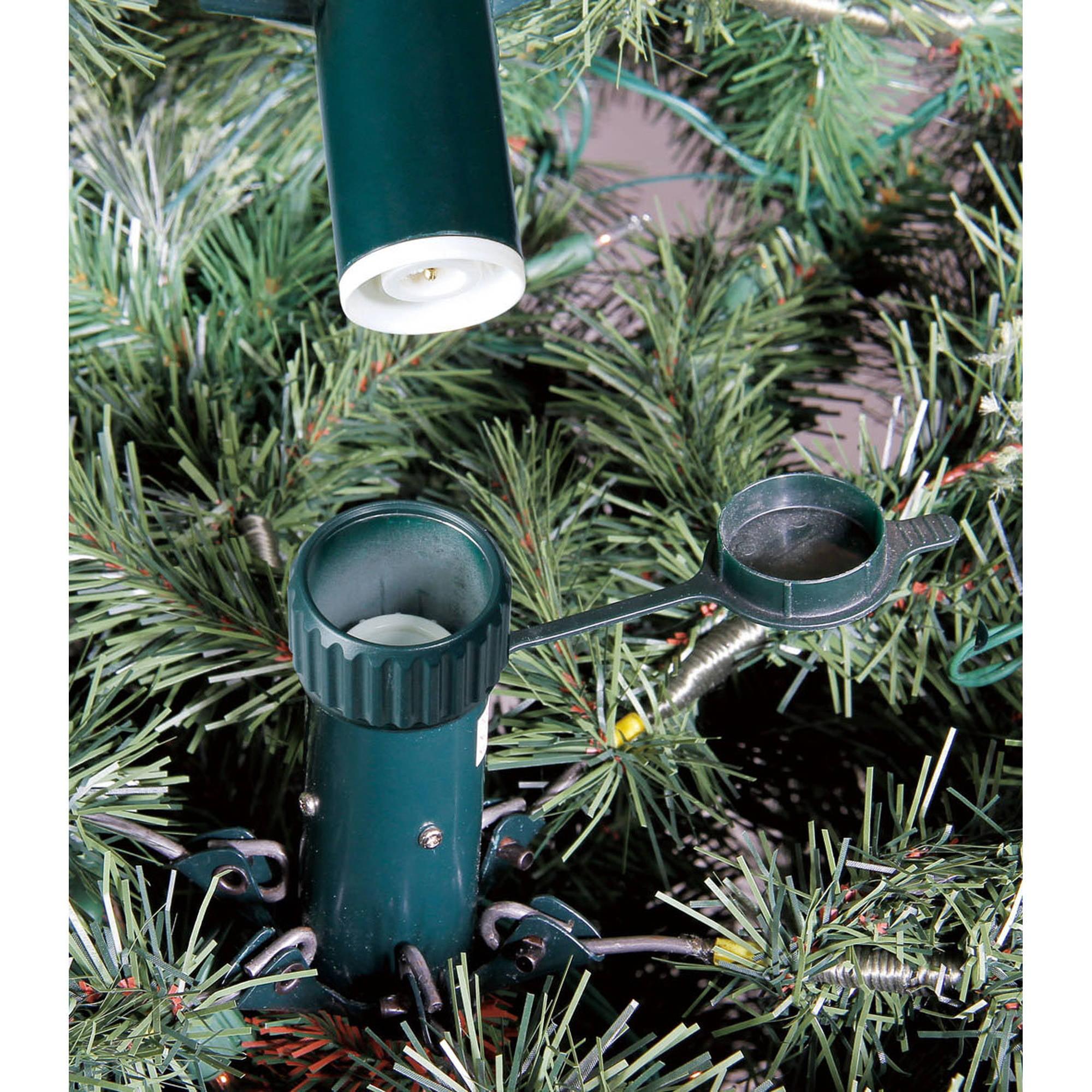 holiday time 75ft thompson qs fir tree multi walmartcom - 7 Pre Lit Christmas Tree