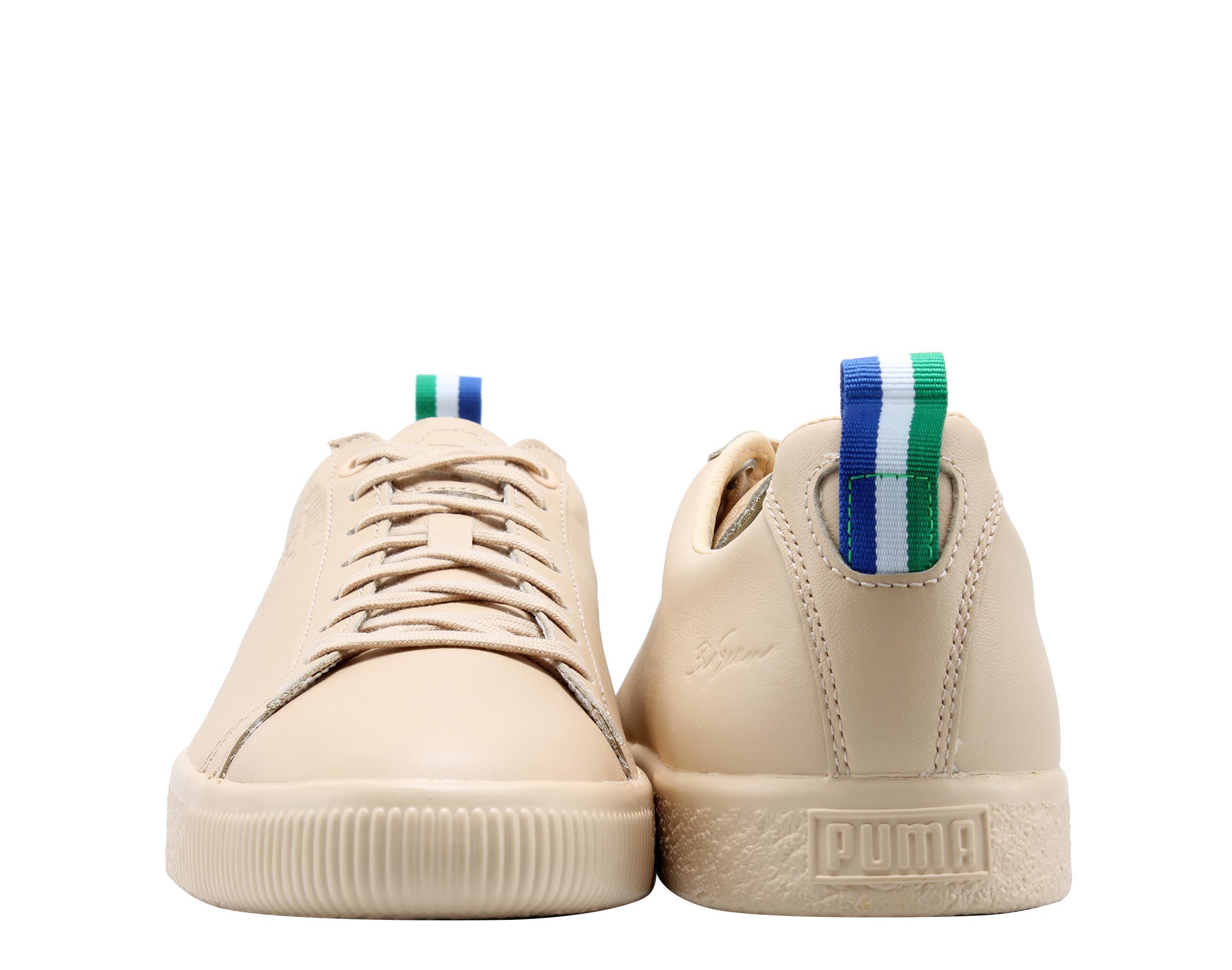 PUMA - Clyde BIG SEAN Natural Vachetta Men s Casual Sneakers 36625301 -  Walmart.com 9fb60053b