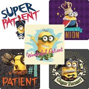 Minions Patient Stickers - Doctor Office Giveaways - 75 per Pack
