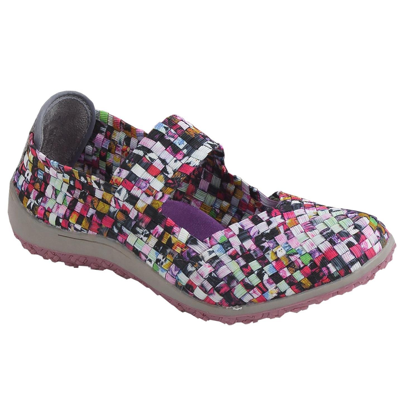 Zee Alexis Women's Sammi Woven Mary Jane Shoe Mosaic 38 US 7.5