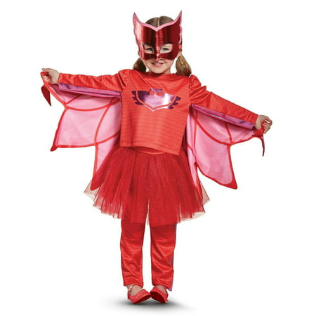 PJ Masks Owlette Prestige Tutu Toddler Costume (Toddler Tutu Costume)