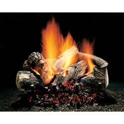 "18"" Hargrove Burnt Oak, Vented, Gas Logs Only, Rga 2-72 Approved"