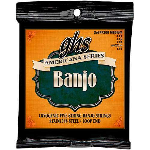 GHS Americana Series Banjo Medium 11-22