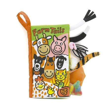 Jellycat Farm Tails Book (Jellycat Tails)