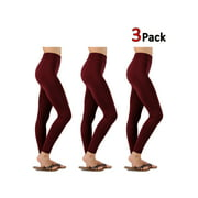 KOGMO Womens Premium Warm Fleece Lined Leggings with High Waist (15 Colors)