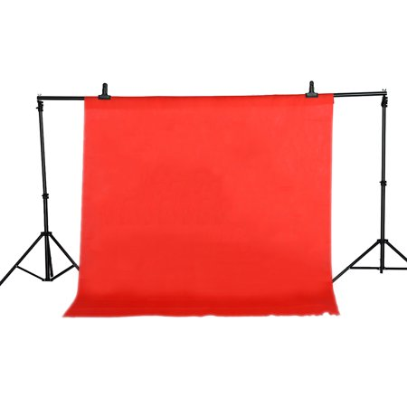 1.6 * 2M Photography Studio Non-woven Screen Photo Backdrop Background, Red