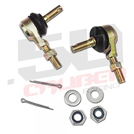 Tie Rod End Kit Suzuki LT250 LT-125 (1985-87) LT-185 (1984-87) LT-230E (1987-93) [2017-A2] By 50 Caliber Racing