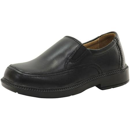 Kids Florsheim Boys Bogan Jr. Leather Slip On Loafers Boys Black Patent Leather
