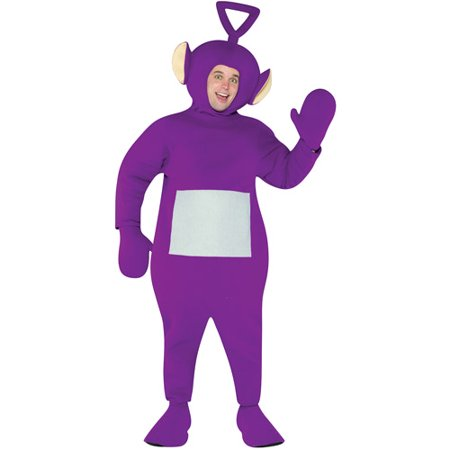 Teletubbies Tinky Winky Adult Halloween Costume - One Size