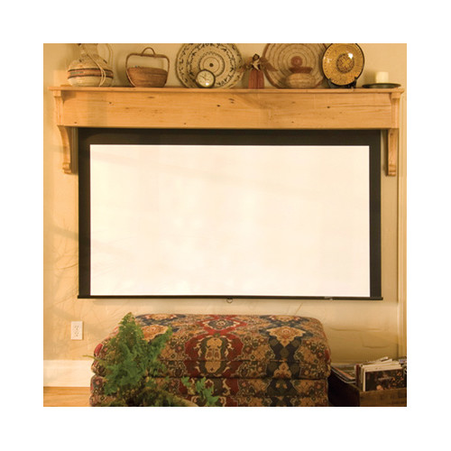 Draper Silhouette Series M Argent White Electric Projection Screen