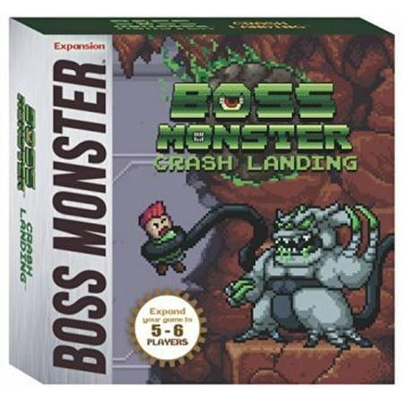 Boss Monster Crash Landing Board Game (Halloween Games Of Monster High)